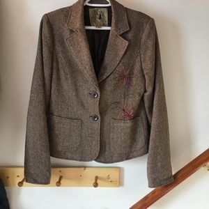 Jackets & Coats - Tweedy Blazer